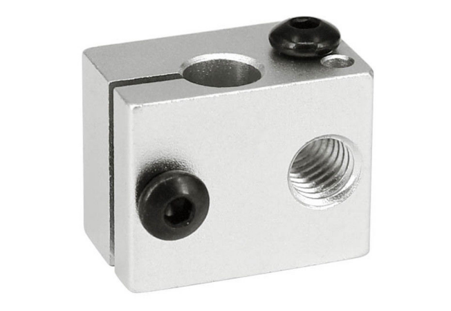 Heater block