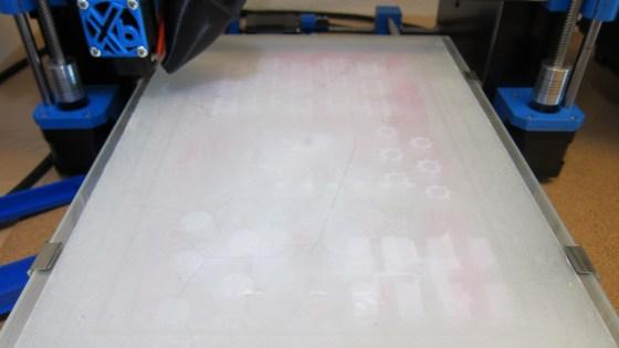 Správně připravená tisková podložka 3D tiskárna Xb1 od Xb printers